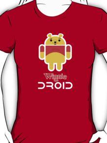Winnie the Droid (text) T-Shirt