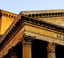 Roman Pantheon by Rae Tucker