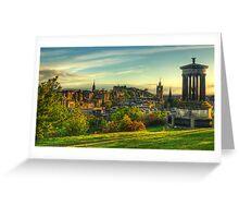 Edinburgh *Please View Larger* Greeting Card