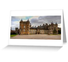 Holyroodhouse Greeting Card