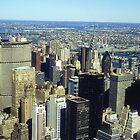 Midtown Manhattan by Alberto  DeJesus