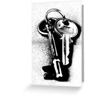 Keys Greeting Card