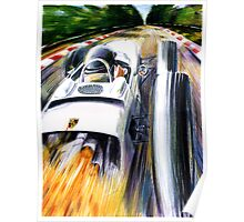 1962 Porsche Type 804 Formula 1 Race Car Poster
