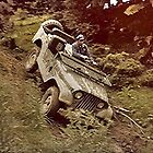 Old Jeep in action....! by Roy  Massicks