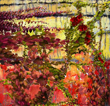 """Garden Wall"" by Patrice Baldwin"