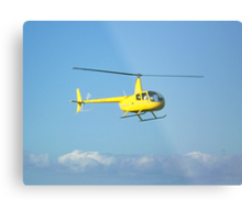 Helicopter rides round the 12 Apostles, Port Campbell. Vic Metal Print