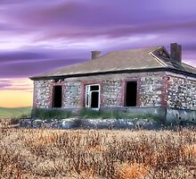 Burra Homestead Panorama by Shannon Rogers