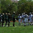 bishop eustace 002 0 paint & ink lacrosse by crescenti