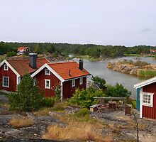 Archipelago village. by cloud7