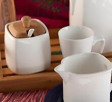 Tea service by Rene Fuller