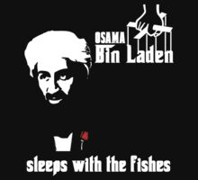 Bin Laden Dead Sleeps with the Fishes by iEric