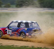 Blyton Park Rallycross - Neil Wade by Chris West