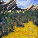 Spring at Vazquez Rocks by Randy Sprout