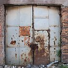 Old metal door by szala