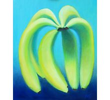 Meaningful Conversations About Bananas Photographic Print