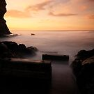 Staithes Slipway (Dusk) by PaulBradley