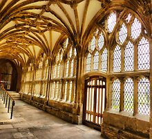 The Cloister by Lilian Marshall