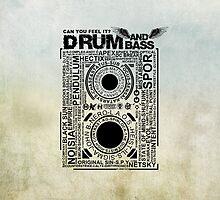 DrumANDBass Overkill  by merx