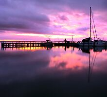 Port Albert Sunrise by Jenni Tanner