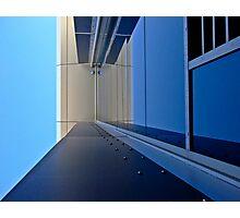 Blue vision Photographic Print