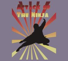 Attack of the Ninja by Junior Mclean