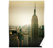 Empire State Building New York Cityscape Poster