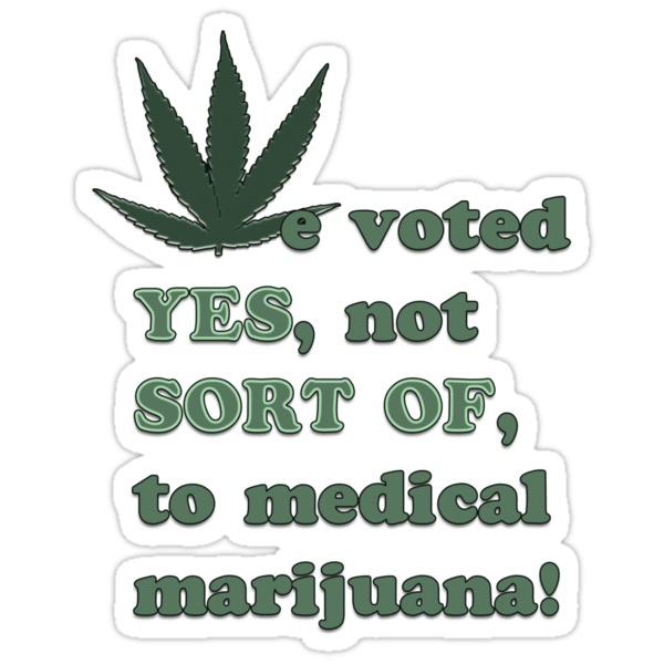 Medical Marijuana Tee by rocamiadesign