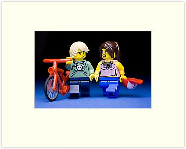 Young love by Kevin  Poulton - aka 'Sad Old Biker'
