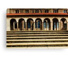University Steps Canvas Print