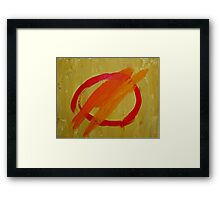If There's No Yellow in Heaven, I Ain't Goin' Framed Print