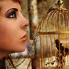 Locked Inside A Golden Cage by WingedCreations
