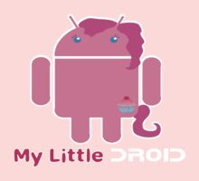My Little Droid-y by GeekCupcake