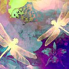 Painting Orchids &amp; Dragonflies. by Vitta
