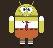 Sponge Android Bob Funny by personalized