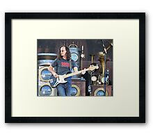 Geddy Lee Framed Print