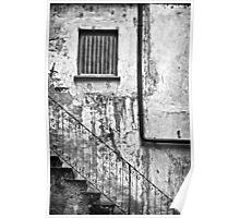 Stairs :: Window :: Drainpipe Poster