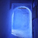 Doorway in Chefchaouen by Jodi Fleming
