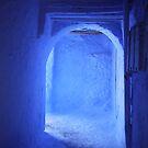 Doorway in Chefchaouen by Jodi Fleming