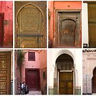 The doors of Marrakesh by Ian Fegent