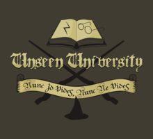 Harry Potter at Unseen University by robotrobotROBOT