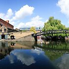 Camden Lock Panorama by John Gaffen