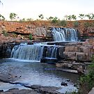 Bindoola Falls on the Gibb River Road. by Alwyn Simple