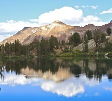 Reflection on a Mountain Lake by John Butler