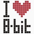 I Love 8-bit &lt;3 by Krydel