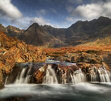 Fairy Pools (4) by Karl Williams