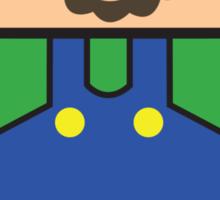 Super Droid Bros. Luigi Sticker