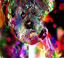 Sad Dog What Up by James Thomas