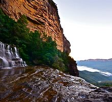 Katoomba Falls. by Warren  Patten