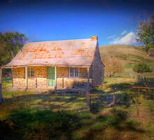 A Once Loved Home - Hay Flat, Fleurieu Peninisula, SA by Mark Richards