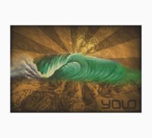 Yolo Wave Painting by yolo808